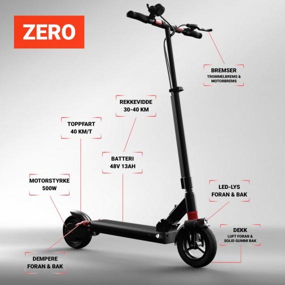 Scooty Zero Detaljer